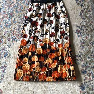 Stunning Handmade Vintage Floral Maxi Skirt 12